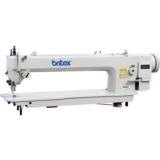 BR-0303L-56/85 AUTOMATIC TOP AND BOTTOM FEED LONG ARM LOCKSTITCH