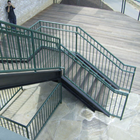 Steel Structural,Commercial Stair Steel Handrail/Railing Manufacturer in Foshan