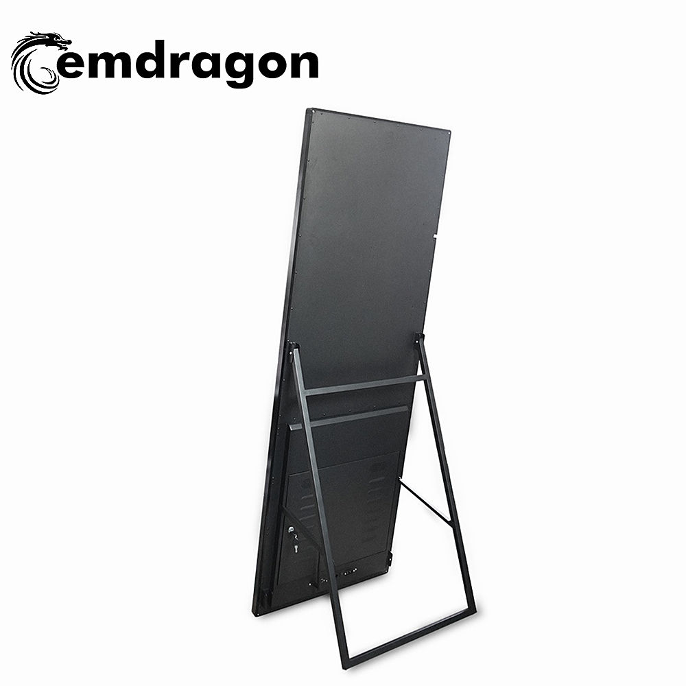 55 inch portable LCD Digital Signage bluetooth advertising display LCD digital signage digital signage totem indoor advertising