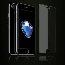 2.5D 9H clear glass for iphone6/6plus, tempered glass for iphone7/7plus
