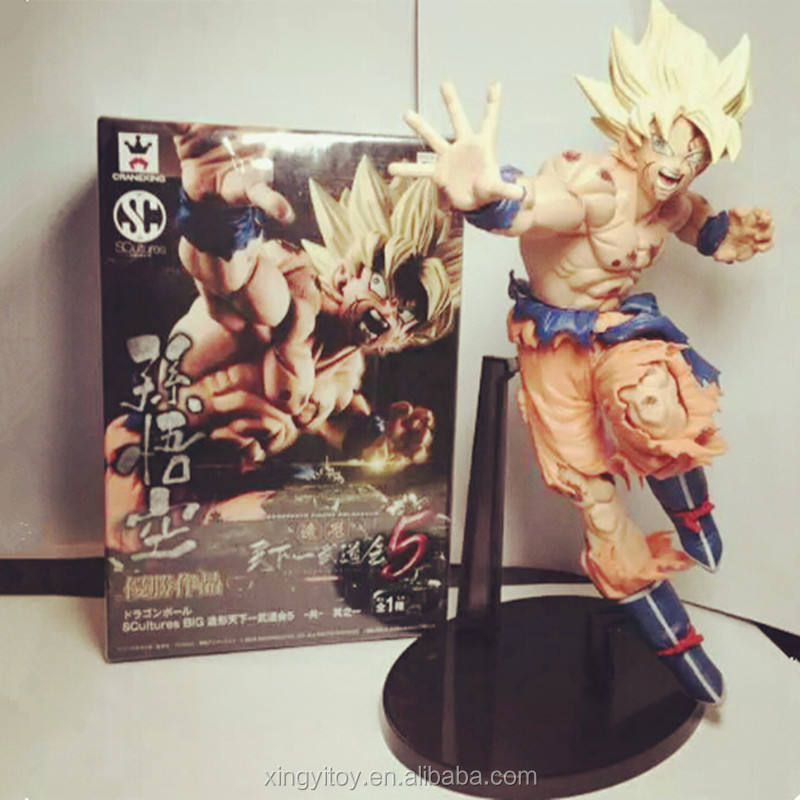 Dragon Ball Z Super Saiyan Dxf Zoon Goku Speelgoed Action Figure