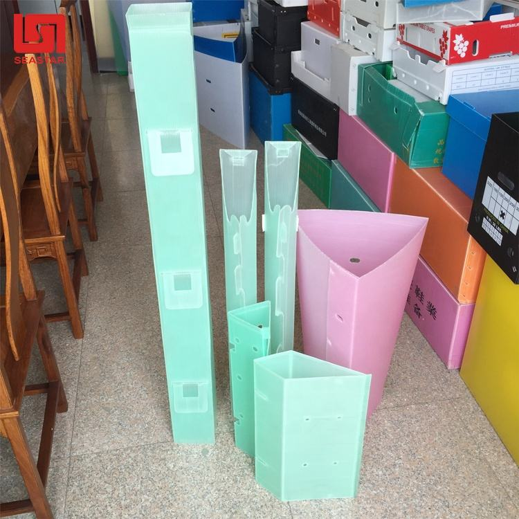Corrugated PP Plastic Tree Guard Tree Shelter Tree Protection Sheet