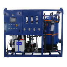 RO water filter system seawater desalination machine price moderate for Island and beach resort