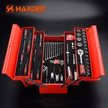 77Pcs Top Quality Household Auto Tool Box Set HARDEN TOOLS