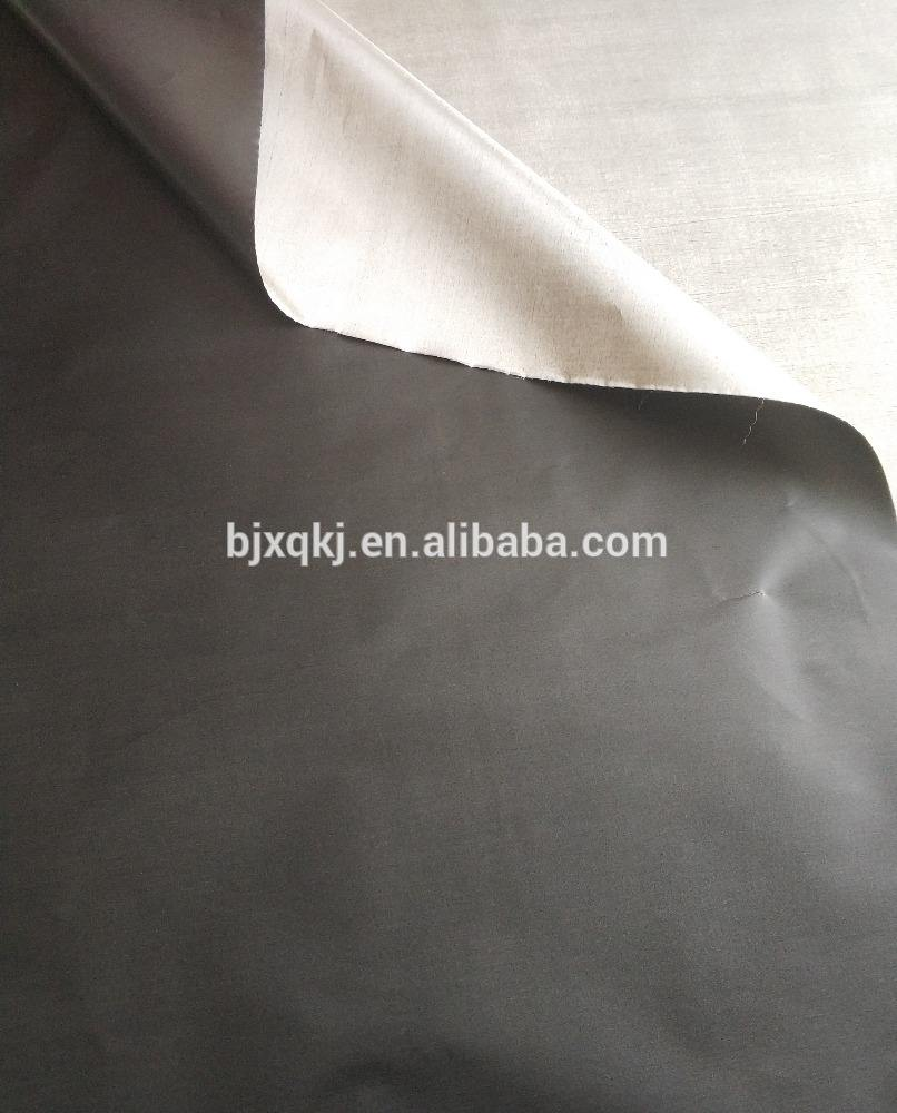 Black nickel 동 전도성 fabric rfid blockingfabric 대 한 백 안 감