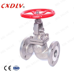 GB Standard Flange globe valve with handle wheel