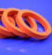 Silicone foam Gasket soft silicone seals ring rubber gasket silicone mold parts factory