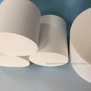 Automobile Honeycomb Ceramic used in Catalytic Converters in China for car