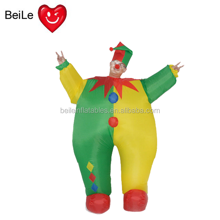 Mobile gonflable clown Costume de dessin animé