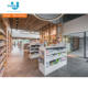 New Design Wood Retail Pharmacy Shop Interior Design For Brand Pharmacy Shop Decoration Pharmacy Counter