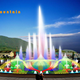 Music dancing outdoor water fountains