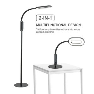 Luxe 2 in 1 Dimbare Led Fancy Floor Lamp