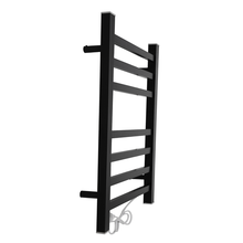 EVIA New Product Wall Mounted Black Square Towel Warmer Rack