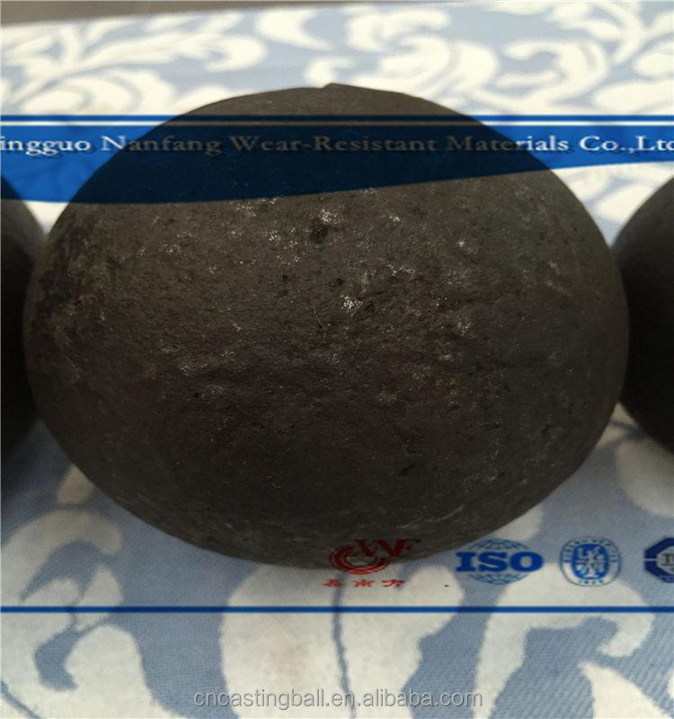 Меля литья мяч для Меди и Серебра руды
