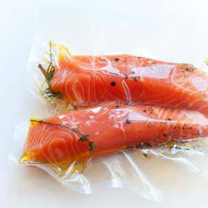 Flexible freezer plastic bag frozen food packaging Vacuum sealed bags