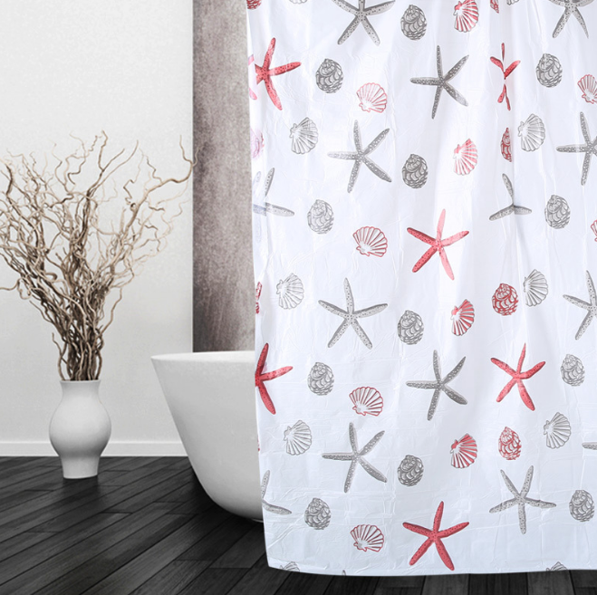Wholesale hookless shower curtain / Shower Curtain Liner / bath curtain