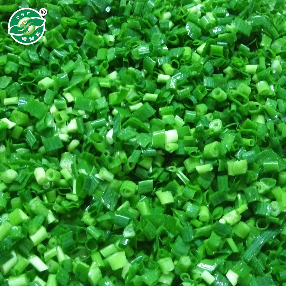 Wholesale Good Price Delicious Frozen Green Spring Onion