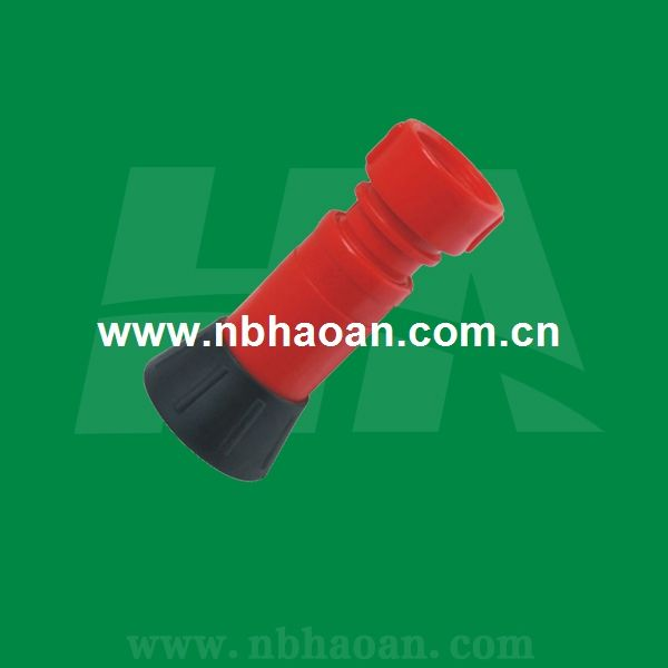 Plastic Water Spray Nozzle For Fire Hose Real