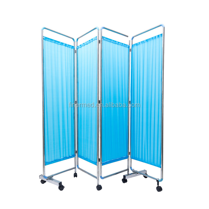 Mobile Folding hospital ward screen