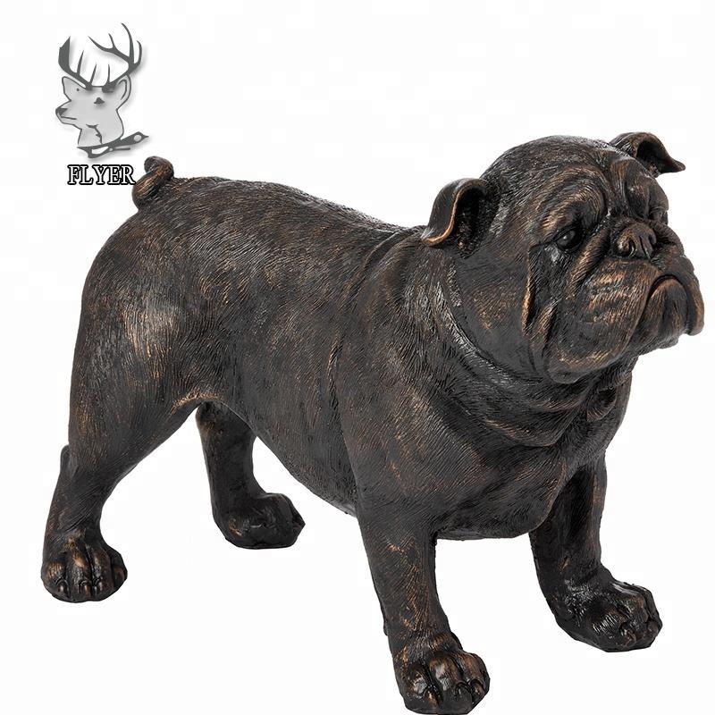 Huge Sale Bulldog Garden Yard Outdoor Indoor Bronze Sculpture Statue Art Deco
