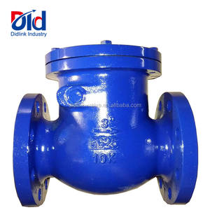 Cheap Price Cast Iron 3 Inch GG25 10k Non Reture Swing Globe Type With Flanged Water Flow Check Valve