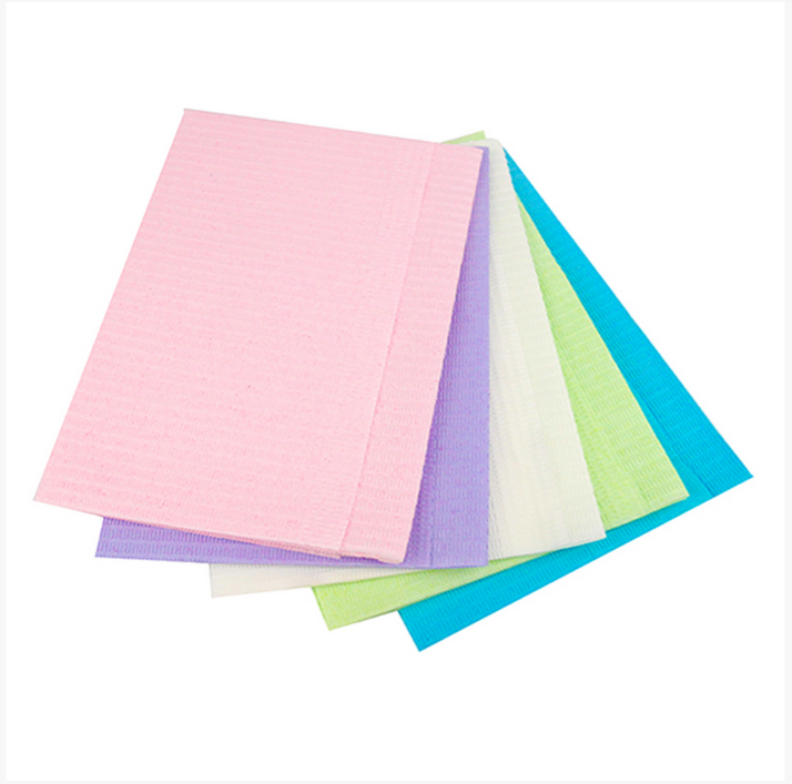 Tissue/Poly Disposable Bib