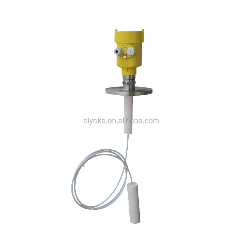 Corrosivity liquid Level Gauge PTFE Rod Guide Wave Radar Level Transmitter