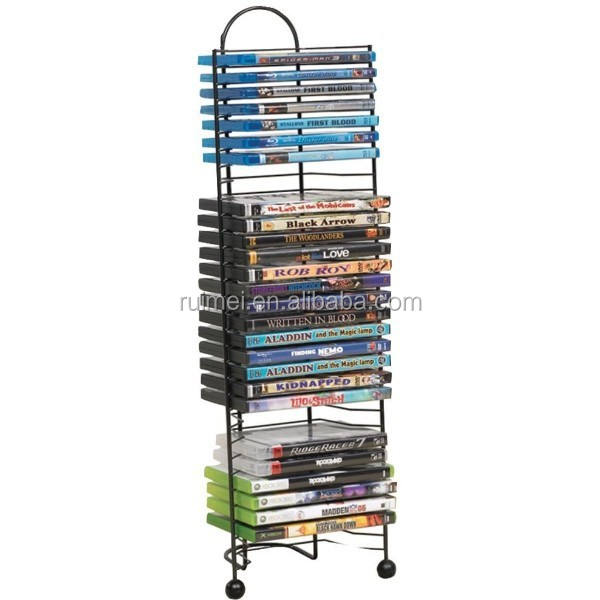 Metalen Meerdere Rack Cd Dvd Display Stand