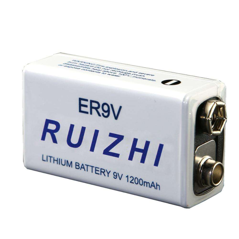 RUIZHI Li-SOCI2 Battery ER9V 3.6V for wireless sensors fire detectors