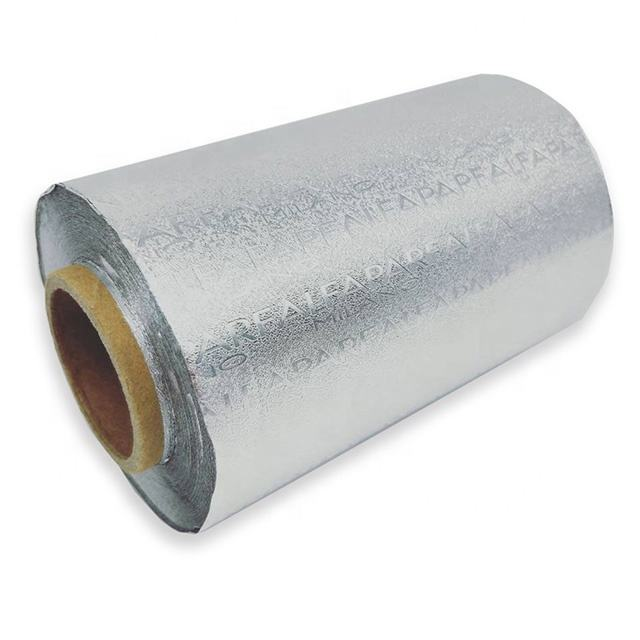 embossed aluminum foil rolls for hair coloring
