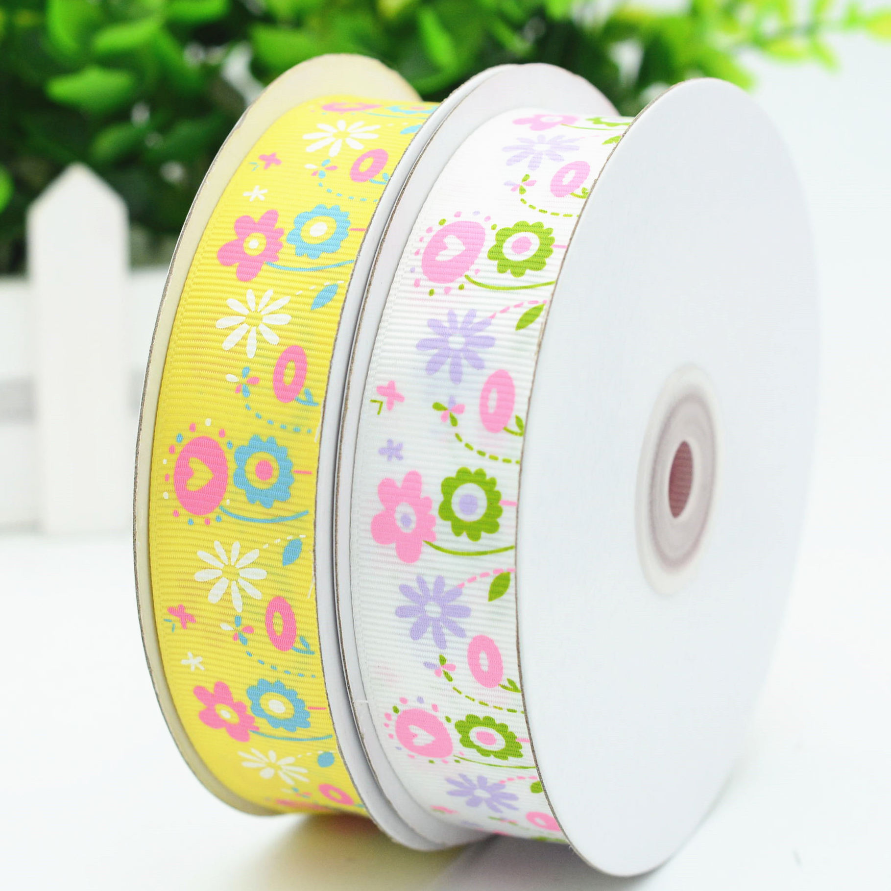Supplier Ribbon 3 Inch Wholesale Custom Printed With Logo Grosgrain Ribbon Decoration For Package Webbing Factory