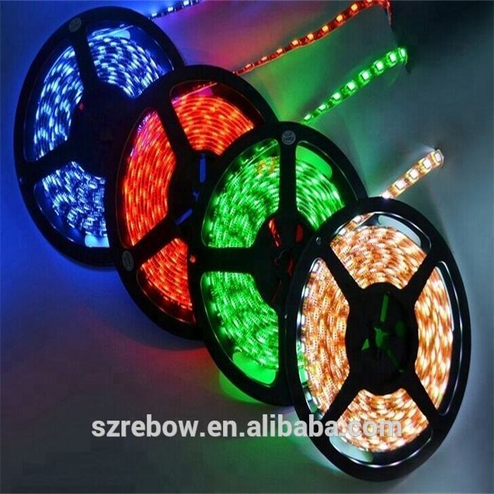 Top Quality 5 메터 300 의 led led strip 빛 5050 60d rgb 12 볼트