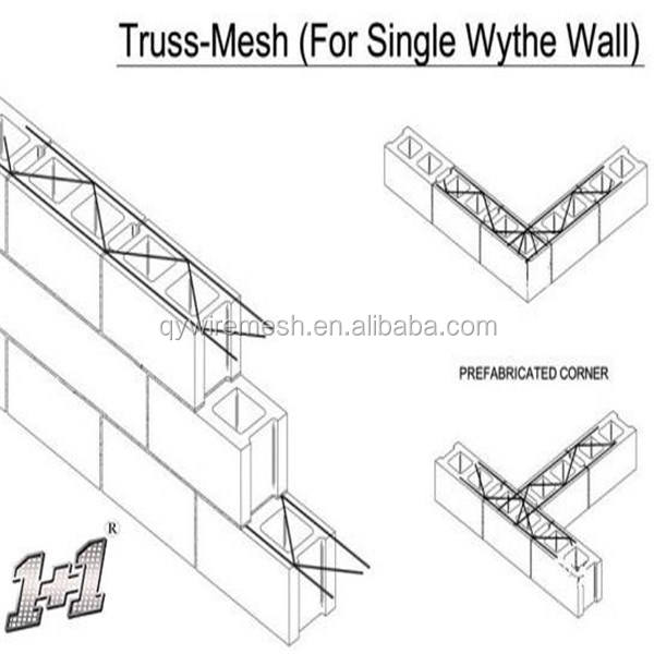 Block Ladder Wire Mesh/masonry Ladder Reinforcement/ladder Wire