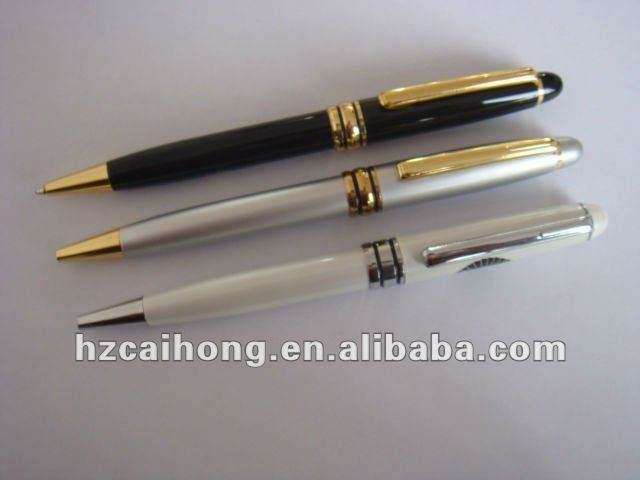 2012 новое прибытие металл шариковая ручка с ch-6556