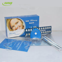 Private label Teeth whitening pen kits with led light teeth whitening kit