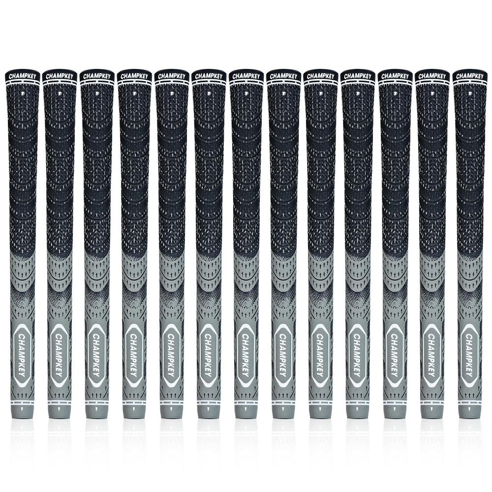New Champkey Multi Compound Cord Golf Grips MCS Gray Standard & Midsize Golf Club Grips