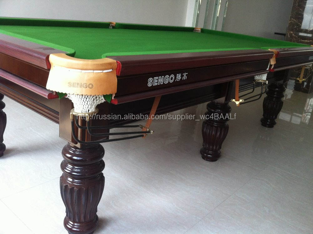Завод продаж массивной древесины с листа бильярдные столы / бильярдный стол и стол