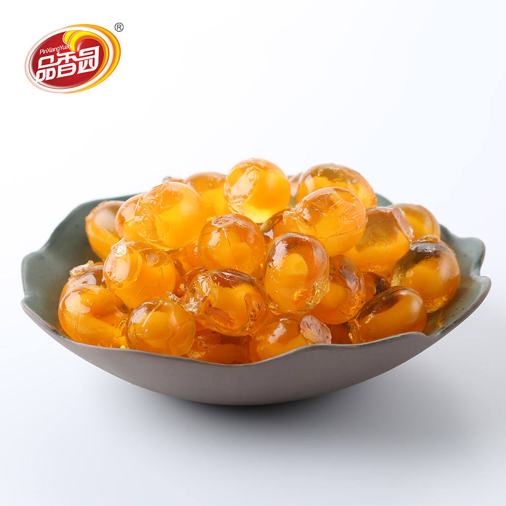 Korean Mango fruit flavored soft chewing jelly candy