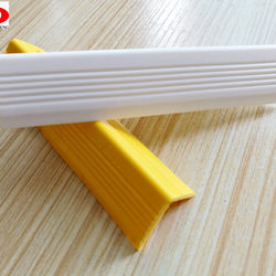 Rubber Flexible Stair Nosing Anti-slip Strip for Stairs