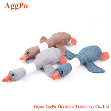 Dog Biting Toy, Soft and Safe Dogs Moles Wild Geese Squeak Toys Puppies Large Dogs Molars Biting Vocal Toy