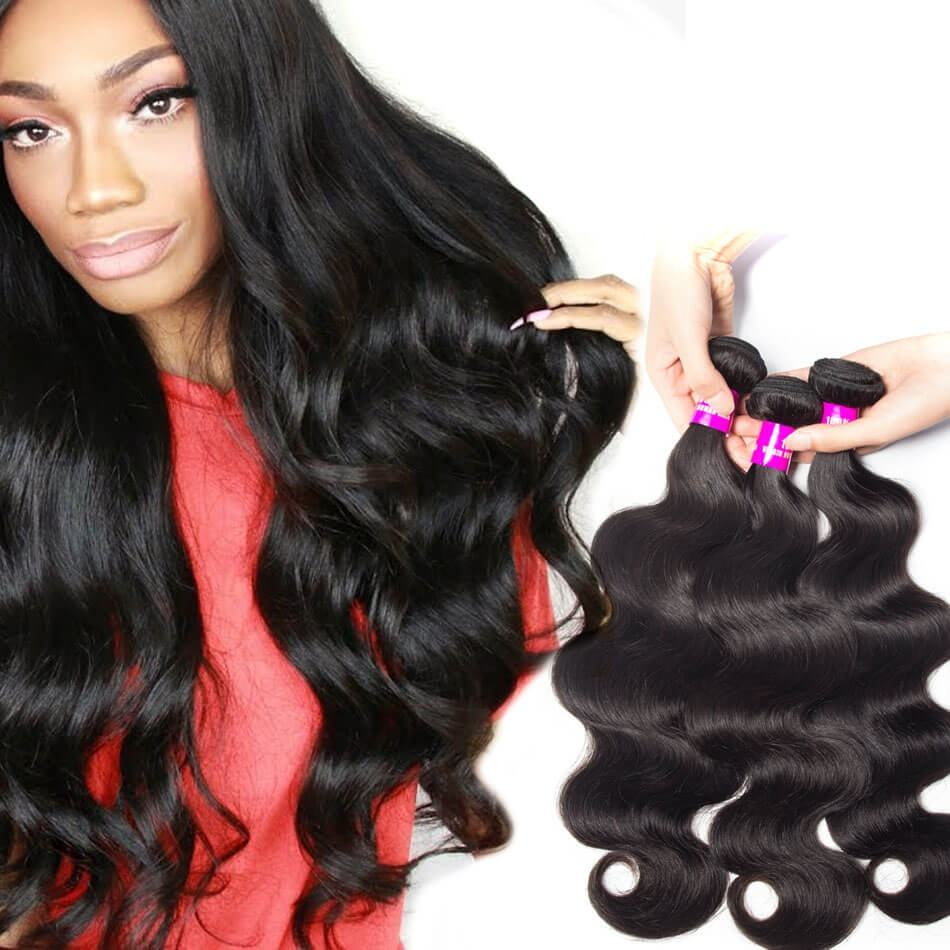Malaysian Hair Bulk Miss Rola New Star Body Wave Hair Bundles Raw Indian Unprocessed Temple Remy Human Hair Weave