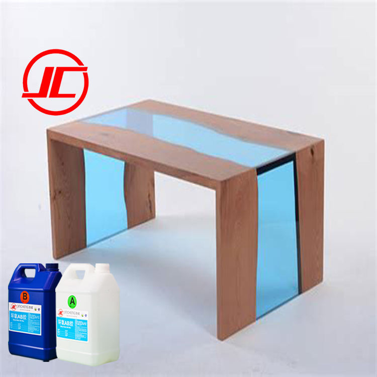 Yew Resin River Console Table for Dinning and Coffee Epoxy Table