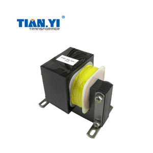 High voltage low current transformer for ozone