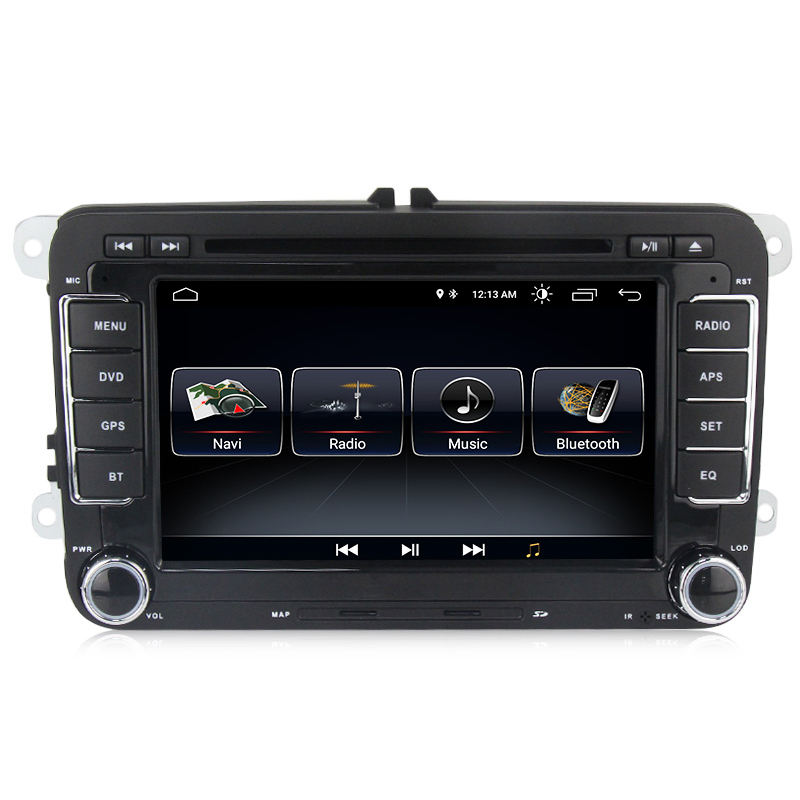MEKEDE Android 10 4core android car dvd palyer For VW/Volkswagen/POLO/PASSAT B6/Golf/TOURAN/SHARAN GPS RADIO Navigation Audio