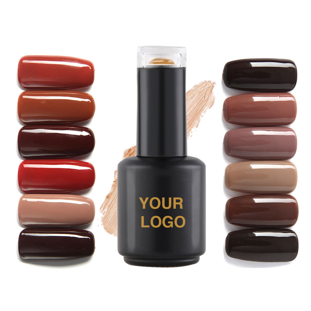 Manufacturer Wholesale coffee colour uv gel,gel polish,uv led gel nail polish bulk