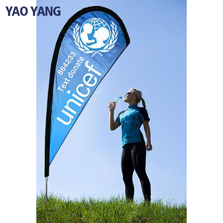 Wholesale Custom Banners Flying Tear Drop Flag