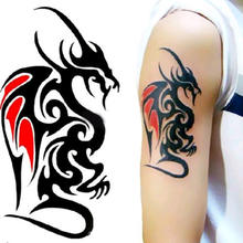 Hot Sale New Style 2019 Custom Temporary Tattoo sticker  for body fashion in shanghai