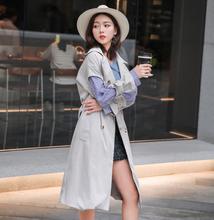 Korean Style fashion Apparel  plus size Ladies long trench overcoats