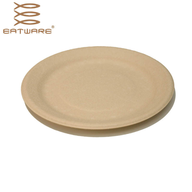 12 Inch China Wholesale Disposable Party Wedding Bulk Bamboo Plate