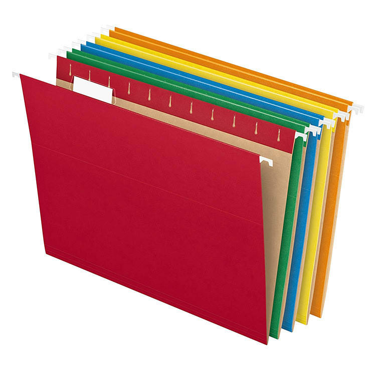 Hot Sale Colorful Manila Paper Hanging Folder